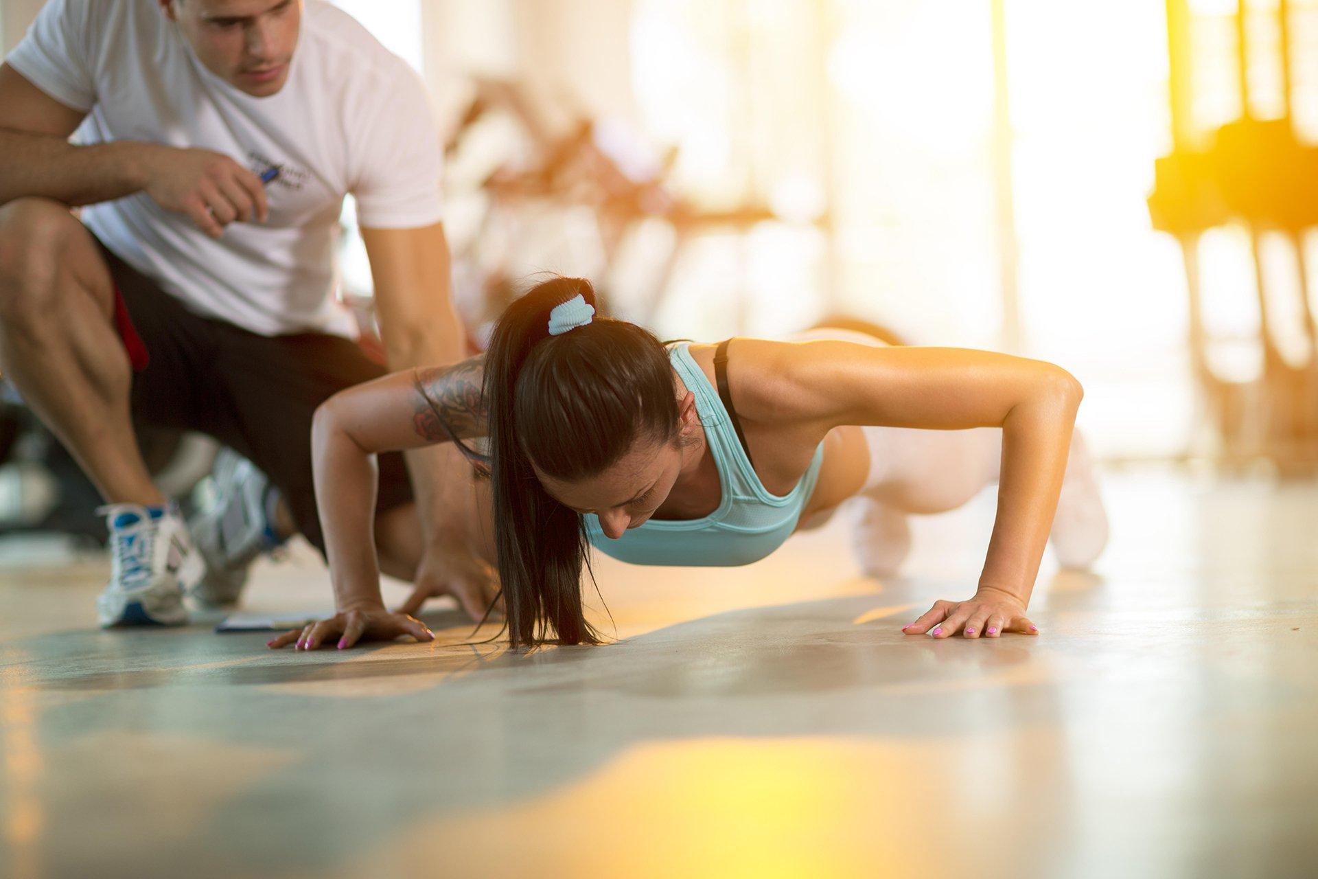 trening personalny i fizjoterapia